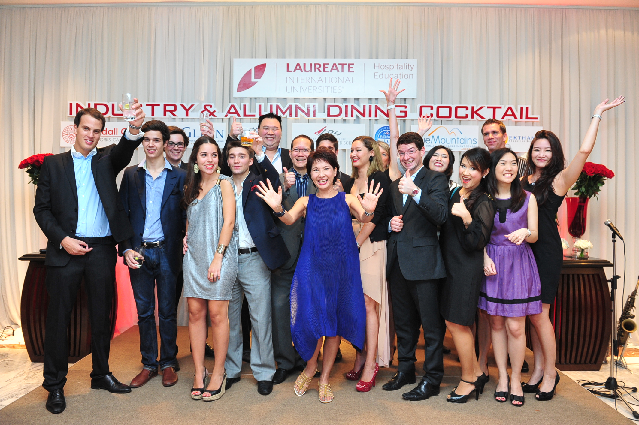 Glion Alumni - Dining Cocktail